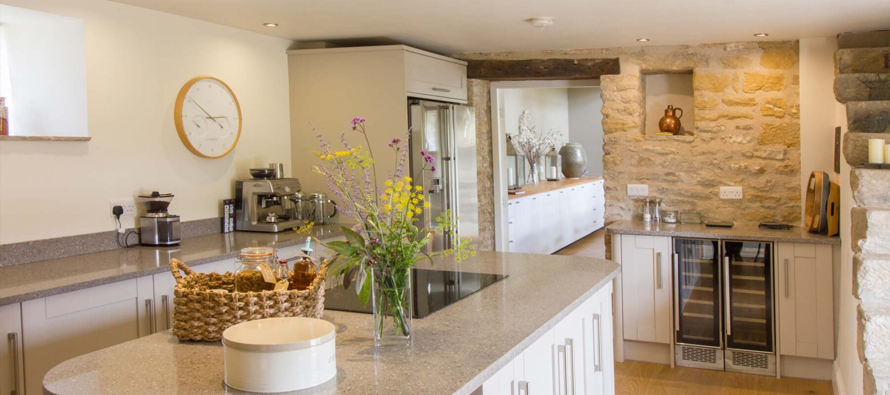 Town End Farm kitchen, holiday accommodation, North Yorkshire